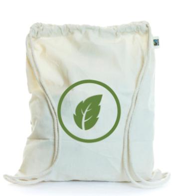 Fair Trade Cotton Drawstring Bag