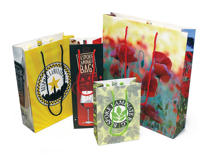 Full Colour Promotional Gift Bag - Paper