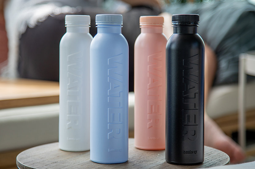 Sustainable Recycled Plastic Re-Useable Water Bottle
