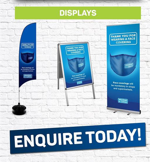 Many signage options