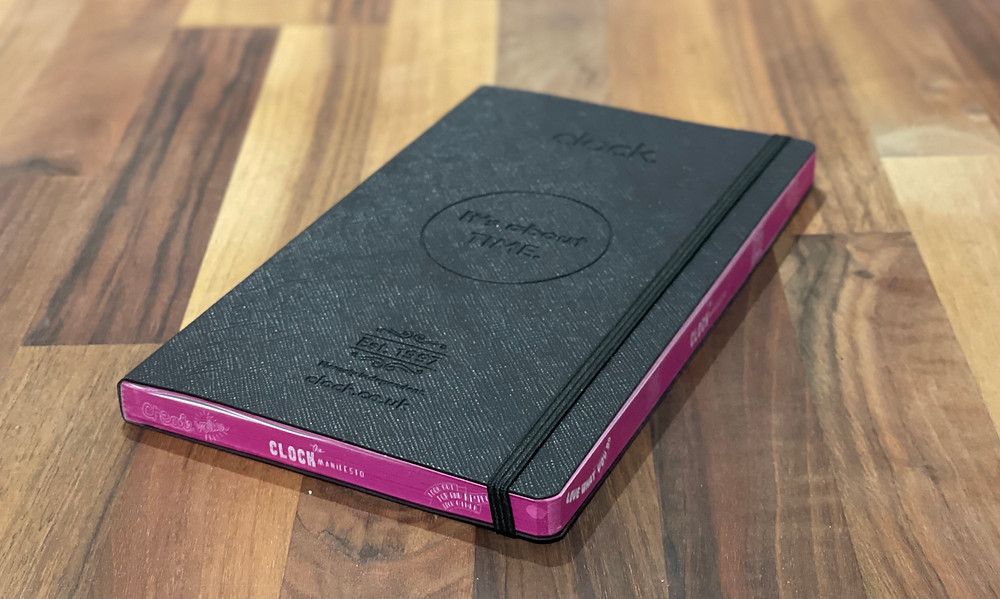 Branded Embossed Journal with branded edges
