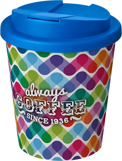 Full Colour Re-usable Spill Proof Coffee Cup