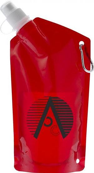 Foldable Branded Drink Bottle with Carabiner