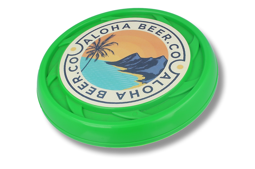 Branded Promotional Frisbee or Flying Disc - Made in UK, Recycled Materials