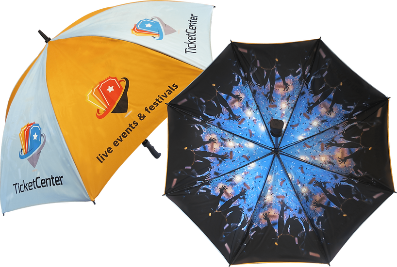 Deluxe Golf/Sport Umbrella - Deluxe with Double Canopy