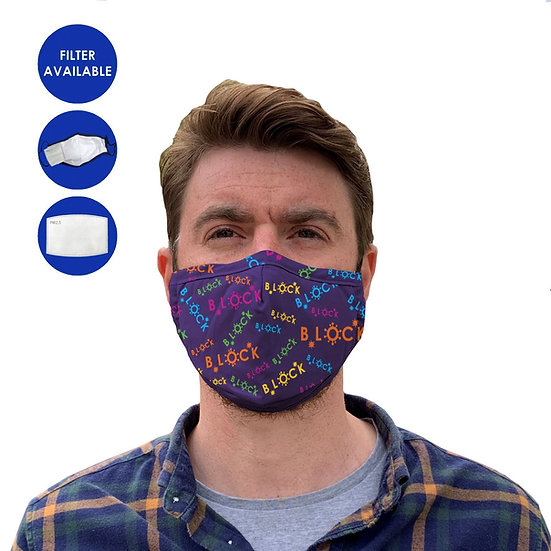 Branded Full Colour 3 Ply Facemask