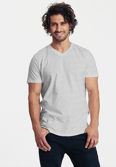 Mens Fairtrade Cotton V-neck T-shirt