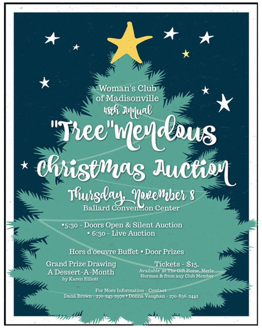 """Tree""mendous Christmas Auction"