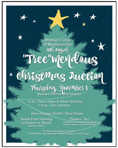 """""""Tree""""mendous Christmas Auction"""