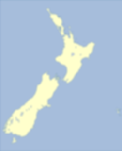 NZ map of rRetail outlets for Living Energy sprays