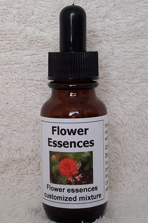 Customised blend of New Millennium flower essences to address your healing requirements