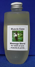 Muscle Ease massage blend for relief of muscle and joint aches and pains