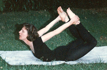 Bow pose, Dhanurasana, In the Zone Healing private yoga classes, yoga practice