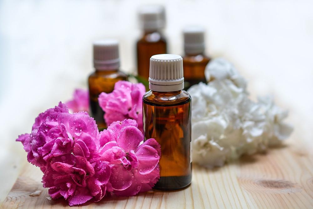 Essential oil of rose