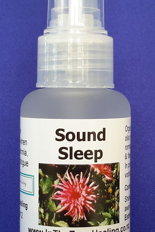 Sound Sleep aromatherapy spray blend for achieving quality sleep