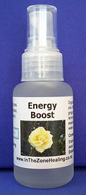 Energy Boost spray for recovery from fatigue, illness or surgery