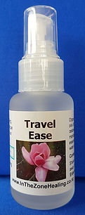 Travel Ease spray for jet lag & fatigue from flying or long-distance travel