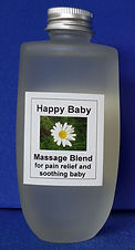 Happy Baby massage blend for settling and soothing babies