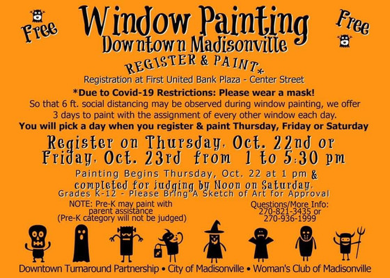 It's Window Painting Time!