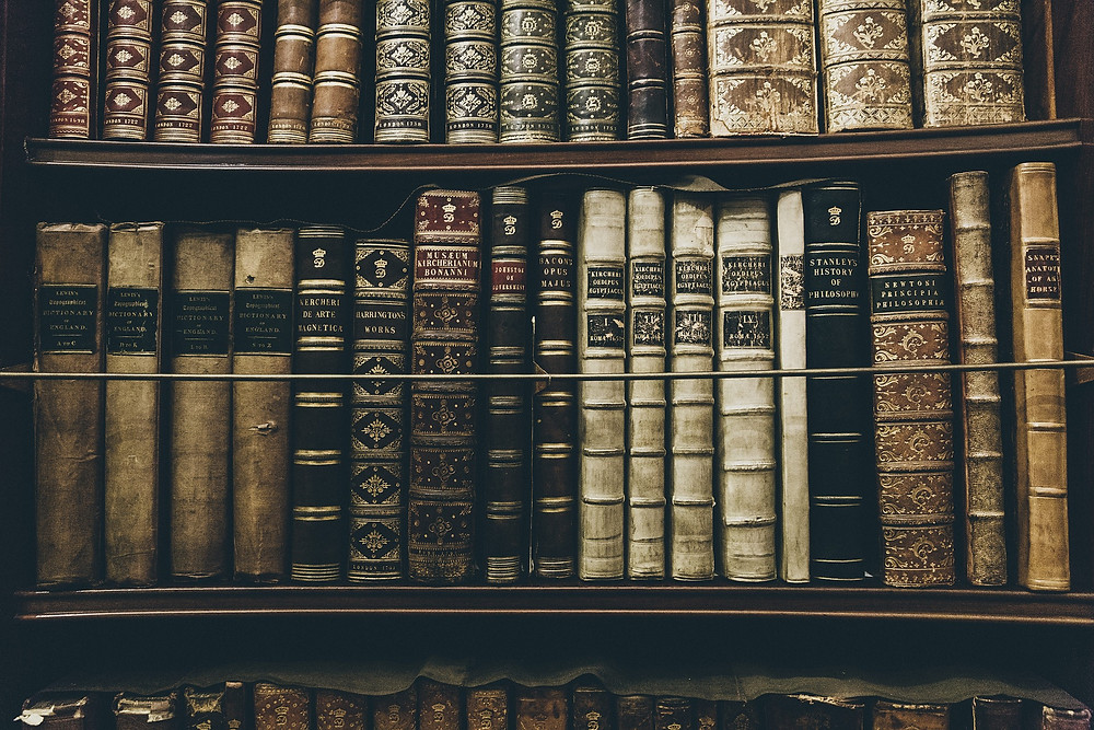 Shelf of books: Reading a person's Akashic soul record