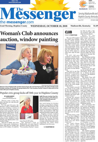 Auction Featured in Local Newspaper