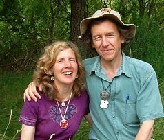 Glenys Earle and Peter Archer in New Millennium Essences
