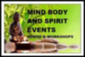 Mind Body and Spirit holistic market
