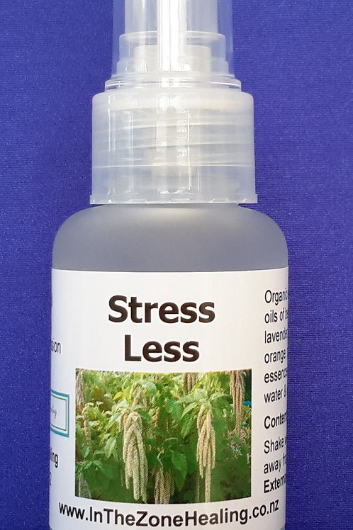 Stress Less aromatherapy spray for stress, anxiety or depression