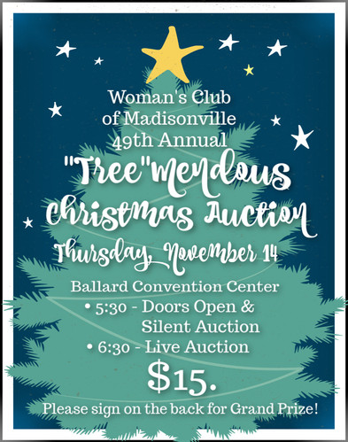 """49th Annual """"Tree""""mendous Auction"""