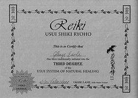 Reiki energy healing level 3