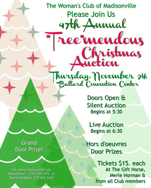 "47th Annual ""Tree""mendous Christmas Auction"