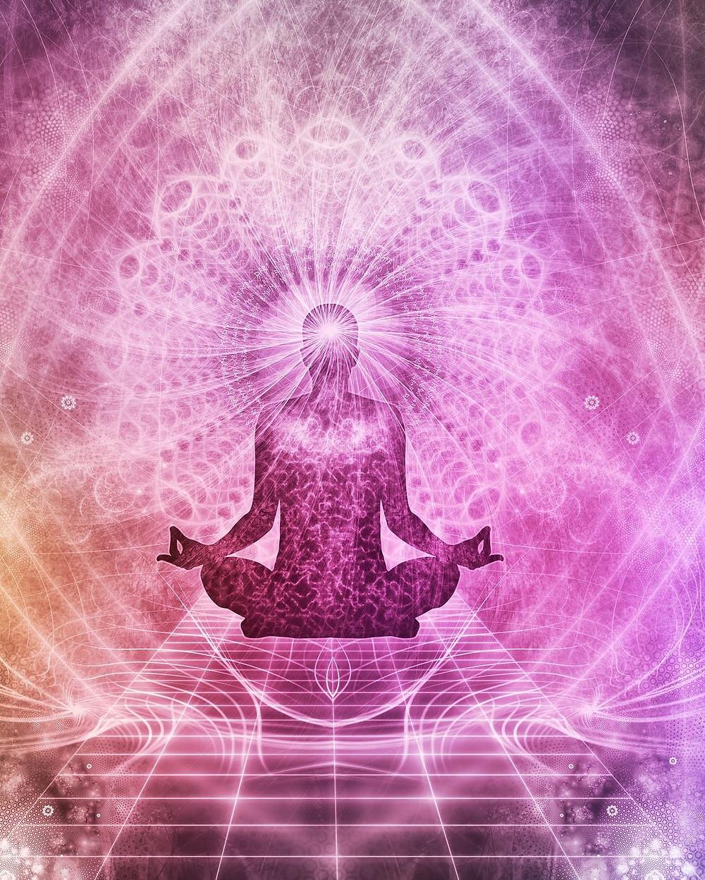 Subtle energy field surrounding body