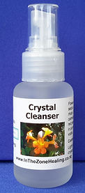 Crystal Cleanser spray for cleansing & revitalising crystals