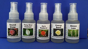 Living Energy aromatherapy spray blens