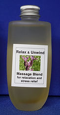 Relax and Unwind massage blend for relaxation, emotional and stress relief