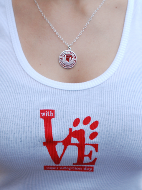 """Women's """"With Love"""" Ribbed Tank"""