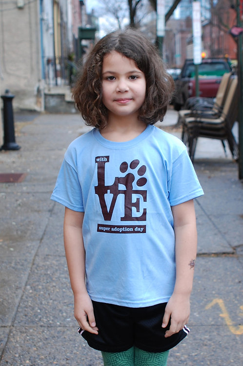 """Youth Unisex """"With Love"""" Tee"""