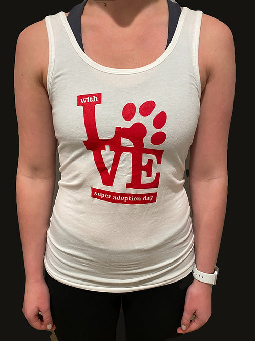 "Womens ""With Love"" Tank"