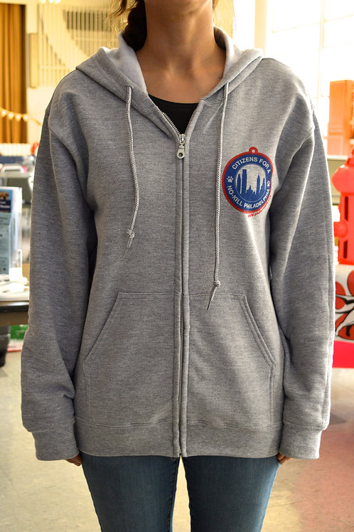 Adult Zip-up Hooded Sweatshirt