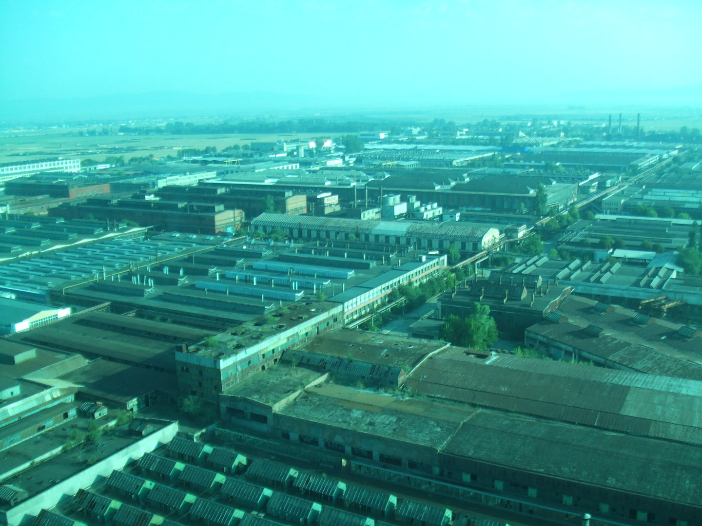 Helicopter View of the Site