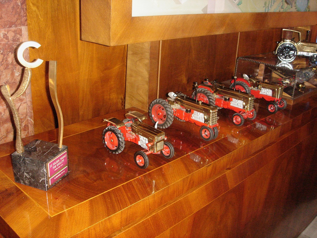 Tractor Models in Museum