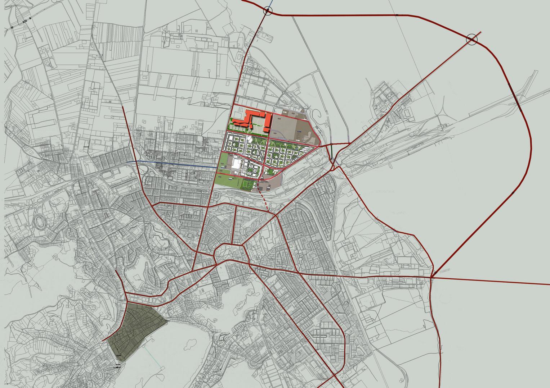 Location within Brasov