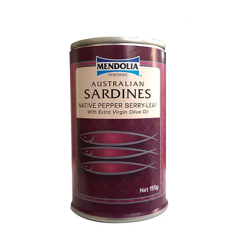 Australian Sardines with Native Pepper Berry-Leaf 155g