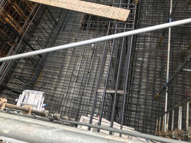 南青山3丁目プロジェクト 基礎配筋