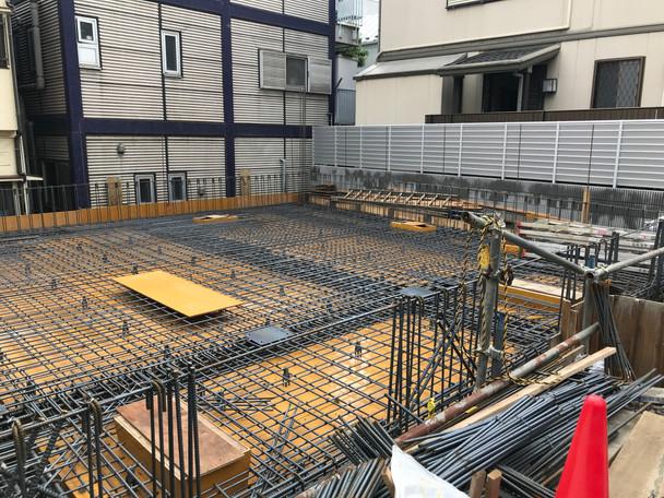 南青山3丁目プロジェクト 1Fスラブ配筋