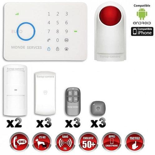Kit Alarme Maison Pro4