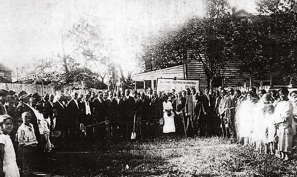 First_Baptist_Church_of_Deanwood,_1909_building_dedication.jpg