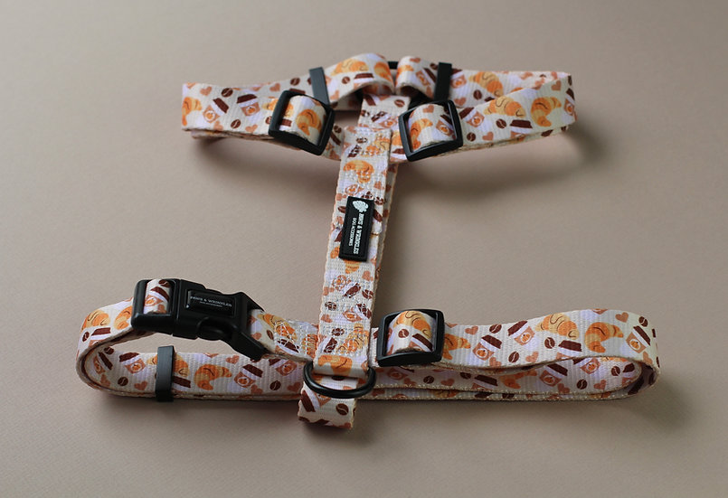 Pups & Pastries Harness