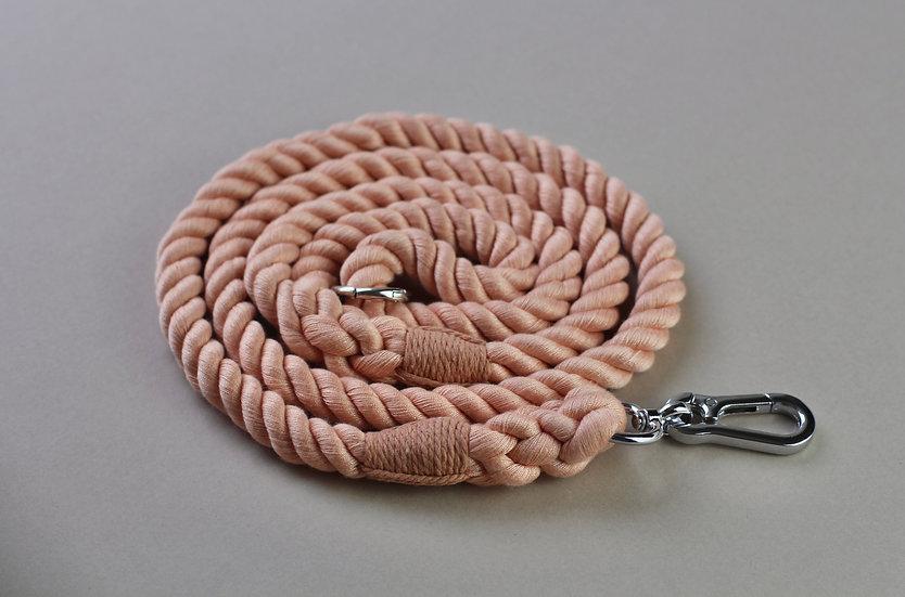Vintage Blush Rope Lead