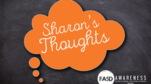 Sharon's thoughts...